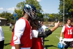 2017 September 23: Duke Blue Devils men's lacrosse alumni game and weekend. Myles Jones