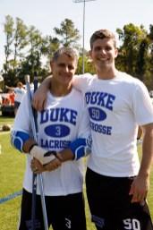 2017 September 23: Duke Blue Devils men's lacrosse alumni game and weekend. Chris Maxmin and Reid Maxmin