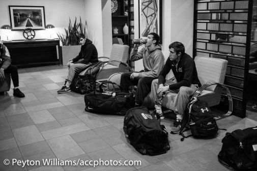 6:15am meet-up in the hotel lobby