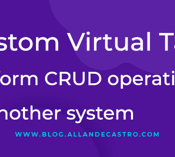 Custom Virtual Tables: Perform CRUD operations to another system
