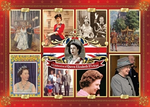 A Celebration of Queen Elizabeth II's reign Jigsaw by Jumbo