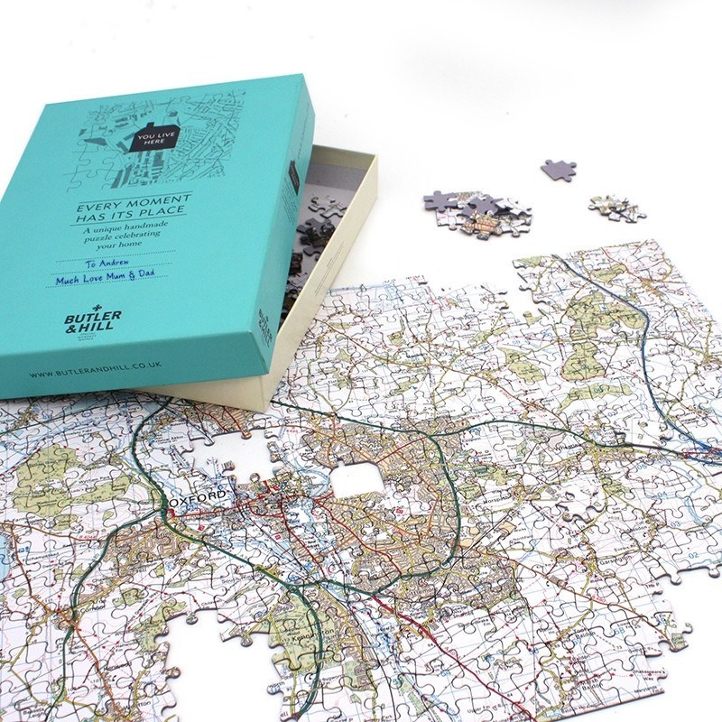 Customised Map Jigsaw Puzzle