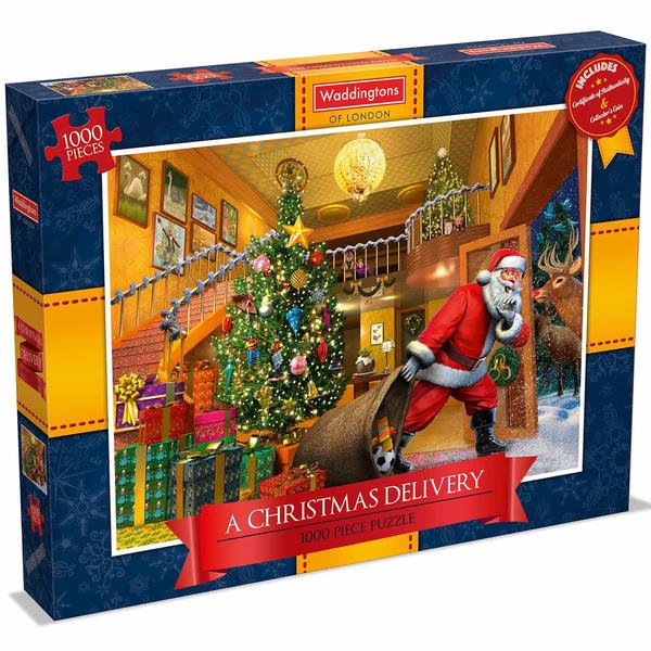 Waddingtons Christmas delivery - 1000 piece Jigsaw Puzzle