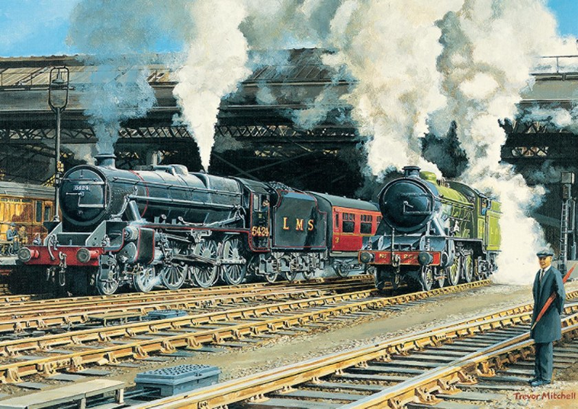 Full Steam Ahead Jumbo Jigsaw Puzzle