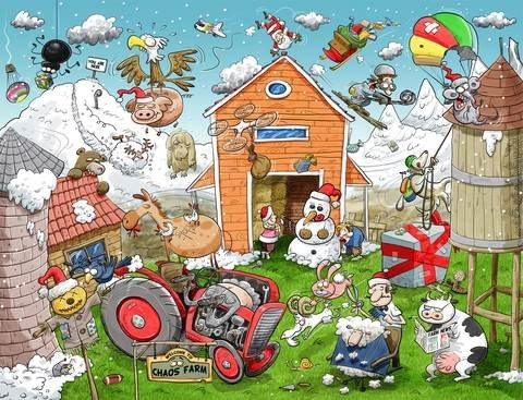 christmas-at-chaos-farm-1000-piece-jigsaw-puzzle