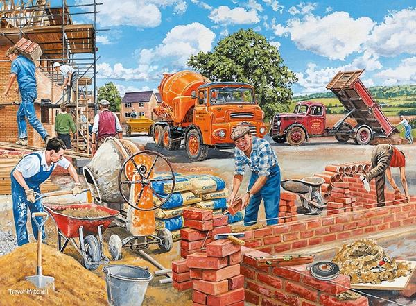 Happy Days at Work no. 12 - the Builder