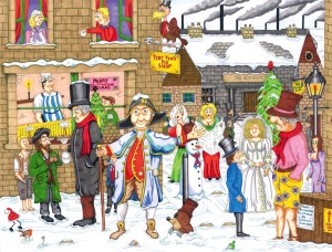 Dickensian Yuletide - Ambler Cartoon Collection