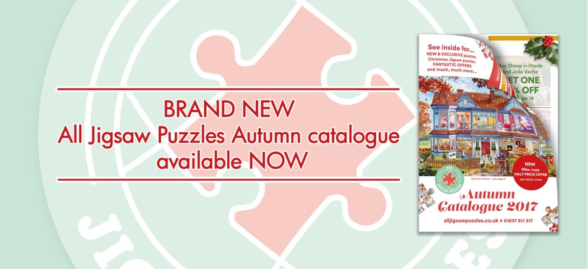All Jigsaw Puzzles Autumn Catalogue 2017!
