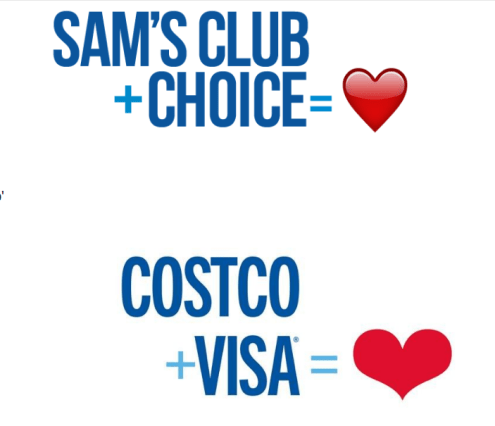 sams costco hearts