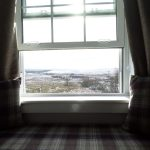A view across Rannoch Moor from the hotel window