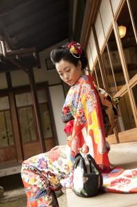 福岡 成人式アルバム 成人式の写真 ロケ撮 0358 フォトスタジオ 写真スタジオ
