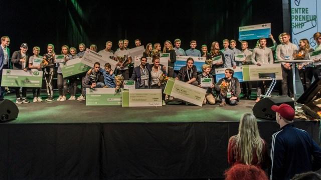 Book2wheel winner of Danish entrepreneurship award
