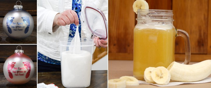 Baby Shower Gift Ideas + A Banana Punch Recipe