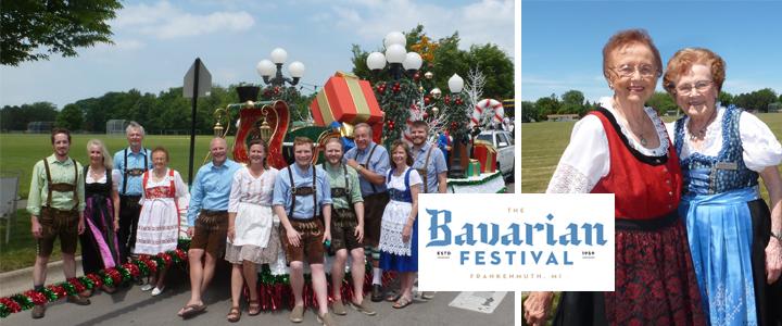 Bronner's Frankenmuth Bavarian Festival Parade Floats