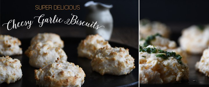 Delicious Cheese Garlic Biscuits Recipe