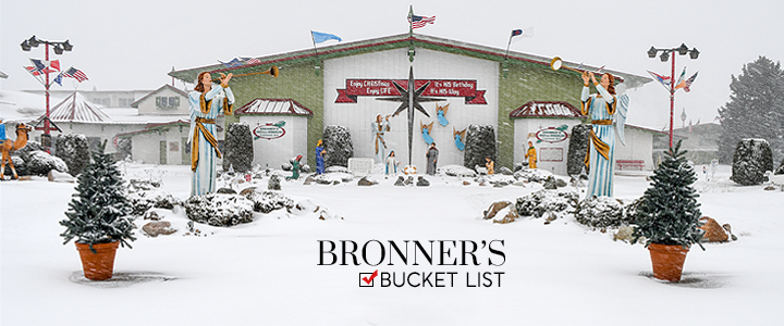 10 Things to Do at Bronner's- Your Bucket List