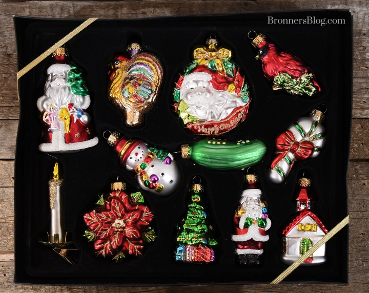 Featured: Set of 12 Christmas Traditions Glass Ornaments (1134006)