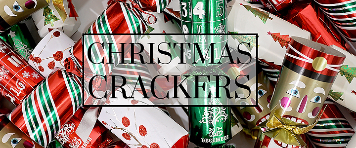 Get The Party Poppin' With Christmas Crackers!