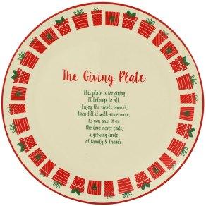 The Giving Plate Ceramic Platter