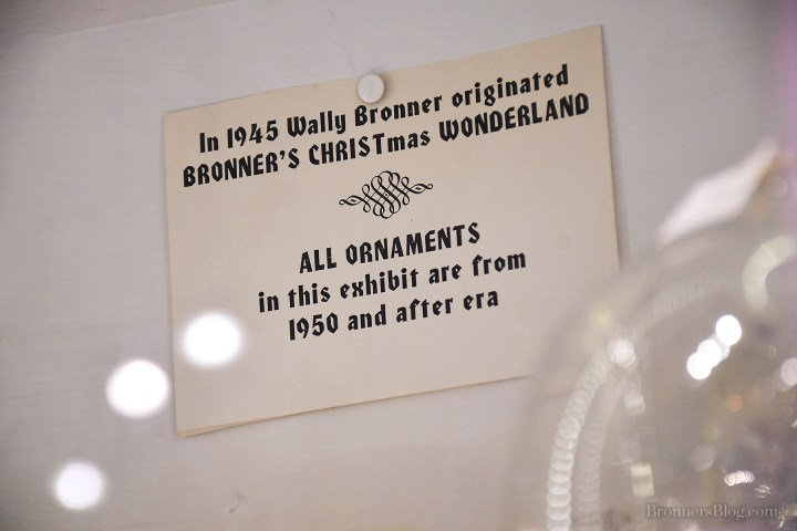 Ornament Exhibit Sign