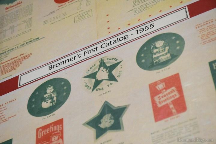 Bronner's First Catalog Circa 1955