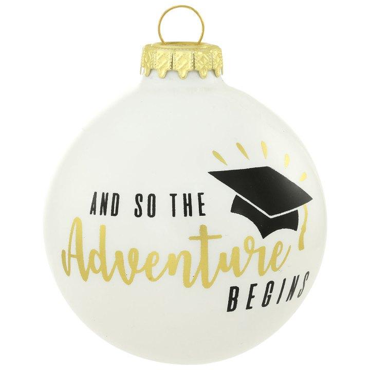 Bronner's Exclusive Adventure Begins Grad Ornament, 1213871