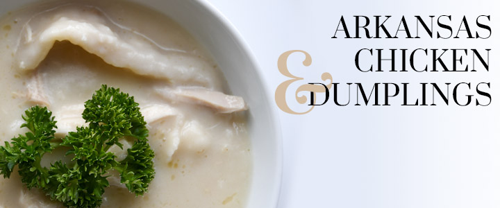Arkansas Chicken and Dumplings