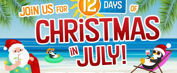Bronner's 12 Days Of Christmas … In July!