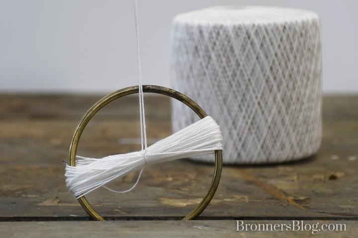 tie string