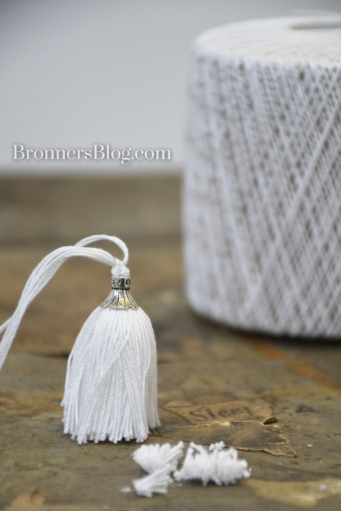 Home-made tassel