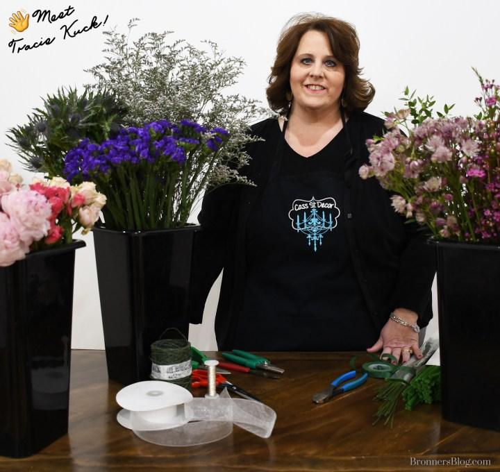 Cass Street Decor Floral Expert, Tracie Kuck