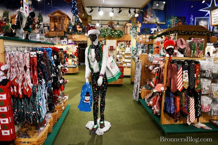 Bronner's Christmas Accessories.