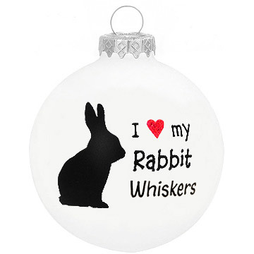 Personalized Rabbit ornament