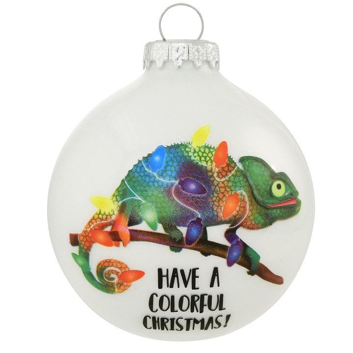 Chameleon Ornament
