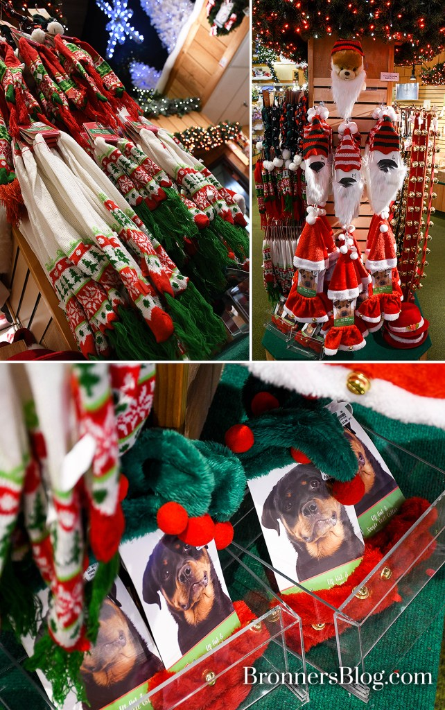 Bronner's CHRISTmas Wonderland Accessories displayer for your pets.