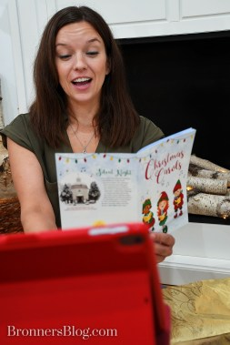 Virtual Party Kit Includes Christmas Carols songbook From Bronner's