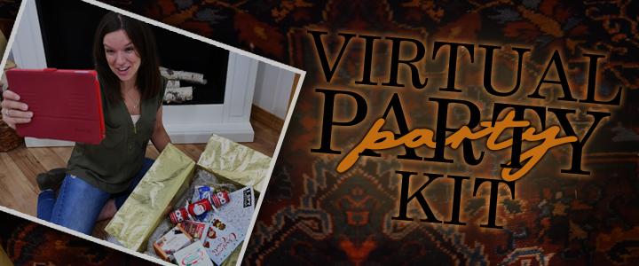Virtual Party Kit For Christmas