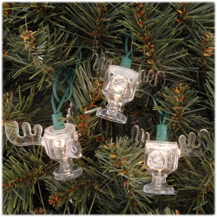National Lampoon's Christmas Vacation moose mug lights