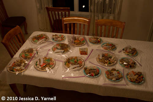 Christmas Cookie plates