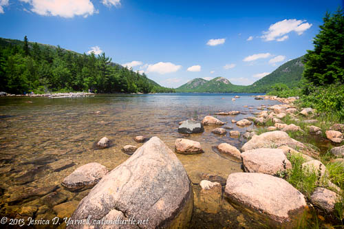 Jordan Pond and the Bubbles, Acadia National Park
