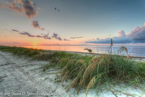Sunrise at Fort De Soto - East Beach at Dawn