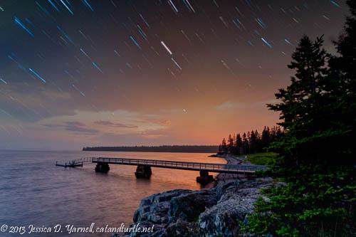 Stars over Maine