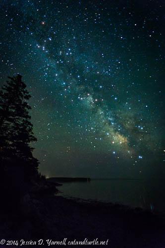 The Milky Way - Mount Desert Island