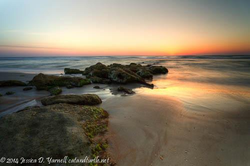 Summer Sunrise - Dawn Glistens on the Water