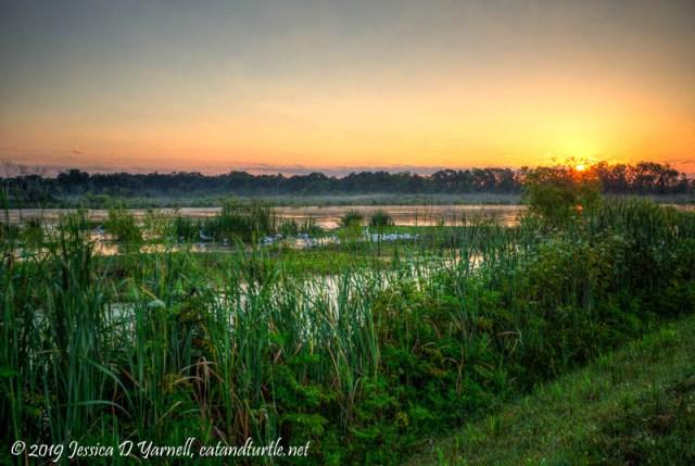 Sunrise at LAWD