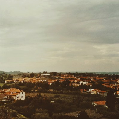 View over Lazise; Lake Garda; Italy; iPhone5s snapshot, mobile photography, edited with mextures & afterlight