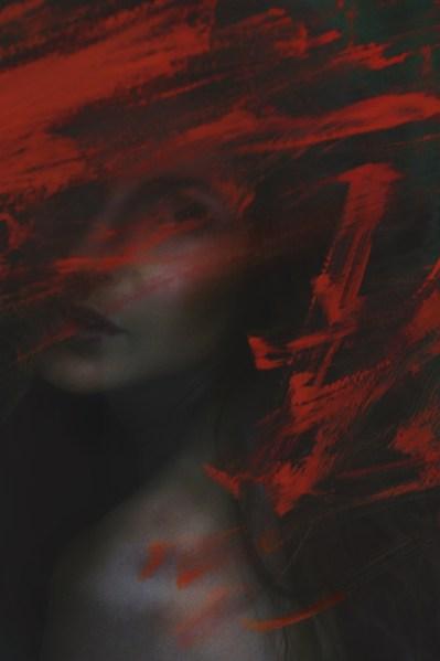 Anja Straubhaar (@Java Models); Tanja Zündt (Hair&Make-up); Christine Polz (Photography); I thought I was an alien, fine art portrait