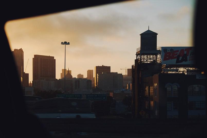 San Francisco bei Sonnenuntergang; Kalifornien
