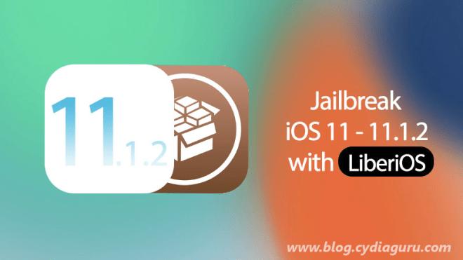 Jailbreak iOS 11.1.2 with liberiOS