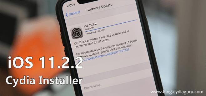 iOS 11.2.2 Cydia Installer